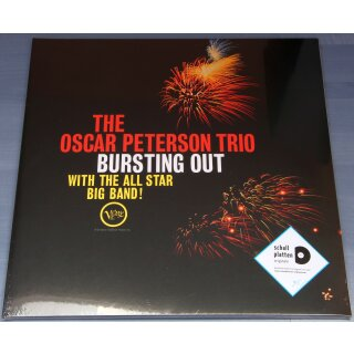 The Oscar Peterson Trio - Bursting Out With the All Star Big Band! - Vinyl LP Neu / OVP