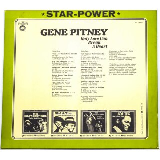Gene Pitney - Star-Power / Only Love Can Break A Heart